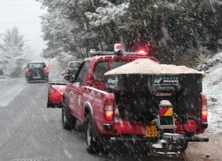 Αττική: Έφτασε ο χιονιάς