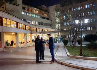 Κικίλιας: Επίσκεψη στο νοσοκομείο ΝΙΜΤΣ
