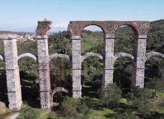 Αποκατάσταση του ρωμαϊκού υδραγωγείου της Μόριας