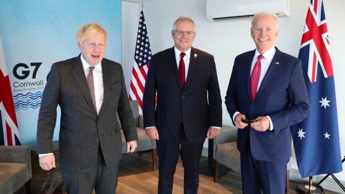 AUKUS: Κοινό μέτωπο ΗΠΑ, Βρετανίας και Αυστραλίας απέναντι στην Κίνα | Newspepper